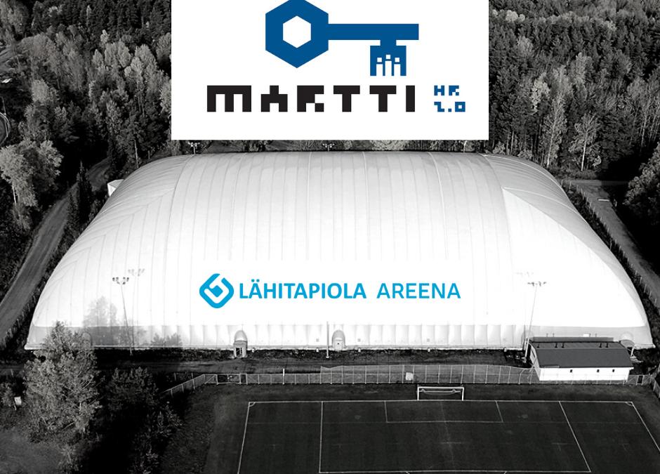 Martti HR mukana tukemassa alueen juniorijalkapalloa – LähiTapiola Areenan Talvisarjan sarjamaksu on jatkossa kaikille saman hintainen